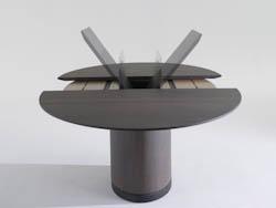 DESIGNTAFELS_Ovale uitschuifbare tafel